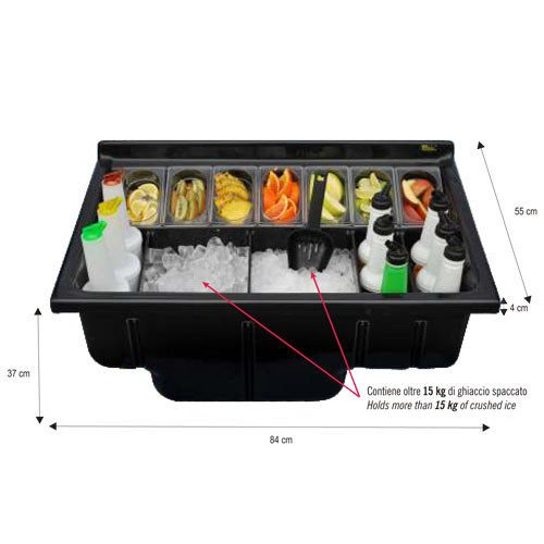 radioactivebarman- Station de integrado color negro Barman attrezzature Barman –  Bartending ABS