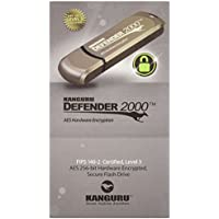 Kanguru 8GB Defender 2000 Secure USB 2.0 Fips 140-2 Encrypted Flash Drive (KDF2000-8G)