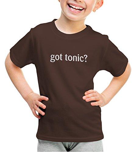 Chocolate Vodka Milk (shirtloco Girls Got Tonic Youth T-Shirt, Dark Chocolate Medium)