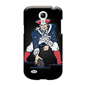 Durable Hard Phone Case For Samsung Galaxy S4 Mini With Unique Design Stylish New England Patriots Pattern TraciCheung