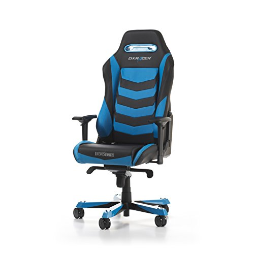 DXRacer Iron series OH/IS166/NB Large size Seat Office Chair Gaming Ergonomic with - Included Head and Lumbar Support Pillows (Black / - Frames Cool Coupon