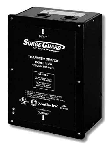 Technology Research 4126000101 50 Amp Surge Guard Transfer Switch