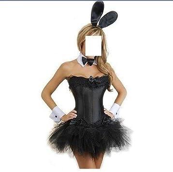 Burlesque Box - Disfraz de conejita Playboy sexy para mujer ...
