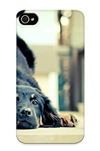 First-class Case Cover Series For Iphone 4/4s Dual Protection Cover German Shepherd Puppy NnjuEGQ6637EWlPS
