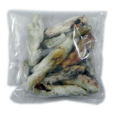 Dehydrated Rabbit Feet Natural Dog Treat 15 Pack for sale  Delivered anywhere in USA