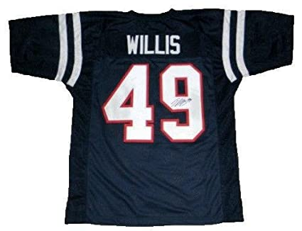 bf220dc2406 Image Unavailable. Image not available for. Color  Patrick Willis  Autographed Jersey ...