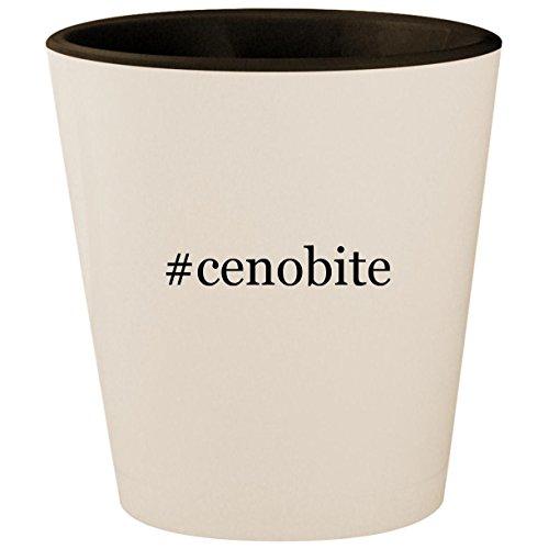 #cenobite - Hashtag White Outer & Black Inner Ceramic 1.5oz Shot Glass ()