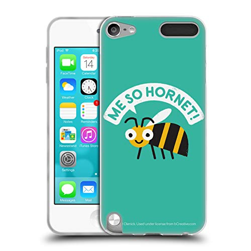 - Official David Olenick Yellow Jacket Animals Soft Gel Case for Apple iPod Touch 5G 5th Gen