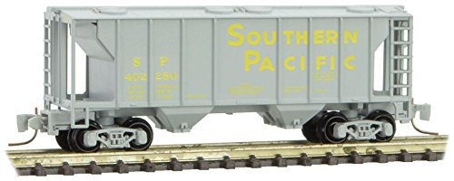 Micro-Trains MTL Z-Scale 2-Bay Covered Hopper Car Southern Pacific/SP #402280