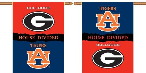 "NEOPlex 28"" x 40"" Outside House Banner - Georgia/Auburn House Divided"