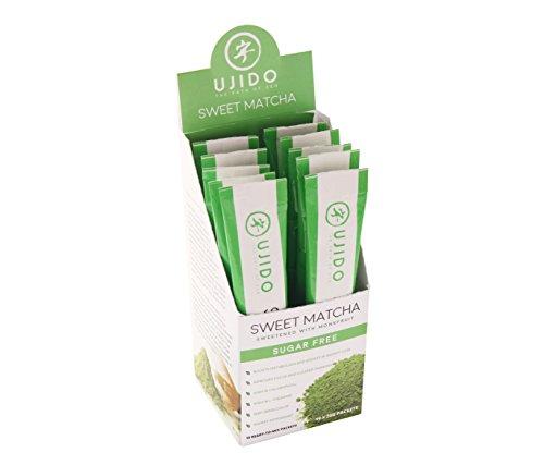 Rtd Fruit (Ujido Sweet Matcha Sugar Free Green Tea Powder with Monk Fruit Natural Zero Calorie Sweeteners, 200g (7.05)