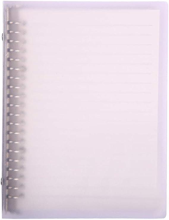 cubierta de papel kraft bloc de bocetos para pintura Memos Tomando notas y graffiti Bloc de notas en espiral A5 color marr/ón 100 p/áginas en blanco 50 hojas 4 unidades