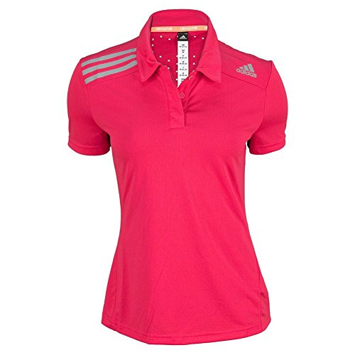 Adidas Women`s Clima Chill Tennis Polo Vivid Berry