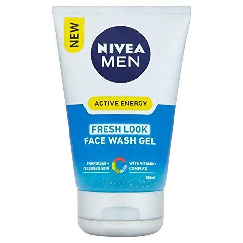 《니베아》남성10페이스 워시100밀리미터 x2 - [니베아] Nivea Men Q10 Face Wash 100ml (Pack of 2)