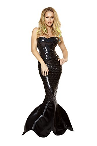 Sexy Women's 2pc Mermaid Mistress Costume (L)