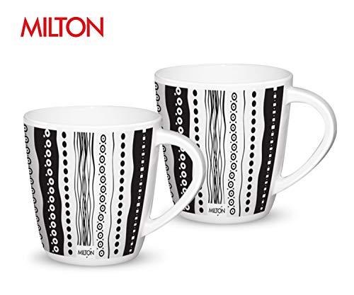 Milton Melamine Milk Mugs- Set of 2 (Stripes)