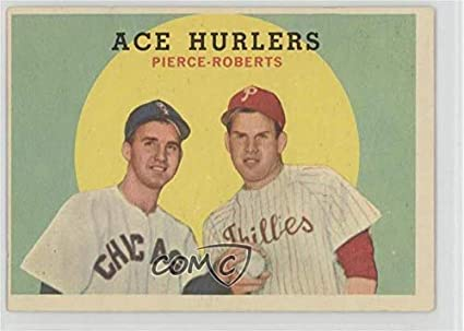 Amazoncom Billy Pierce Robin Roberts Baseball Card 1959