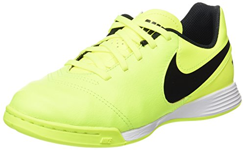 Nike Jr Tiempox Legend Vi Ic, Zapatillas de Fútbol Sala Unisex Niños Amarillo (Volt / Black-Volt)