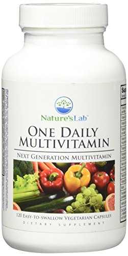 Nature's Lab One Daily Multivitamin Vegetarian Capsules, 120 Count