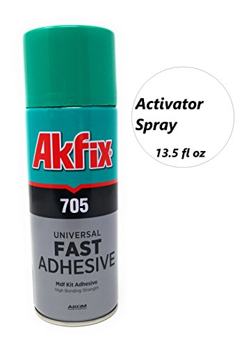 Akfix 705 Accelarator Spray [Activator] for CA - Super Glues 400ml - 13.50 FL oz by Akfix