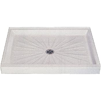 Mustee 3254M 32 In X 54 In Shower Base, White