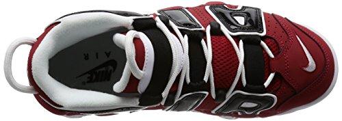Nike Herren Air Huarache International Laufschuhe Weiß / Rot / Schwarz (Wht / brght CCTS-Unvrsty Rd-Blck)