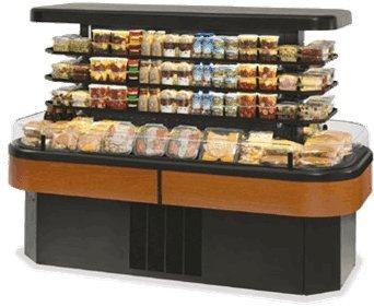 Federal Refrigerated Merchandiser (Federal Industries IMSS84SC-3 Specialty Display Island Self-Serve Refrigerated Merchandiser)
