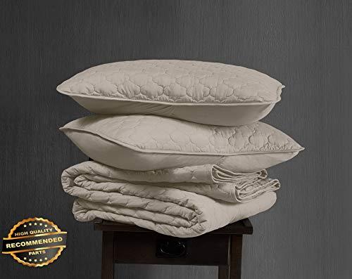 (Werrox Thea 3-Piece Geometric Quatrefoil Pattern Oversized Quilt Set King Size | Quilt Style QLTR-291266885)