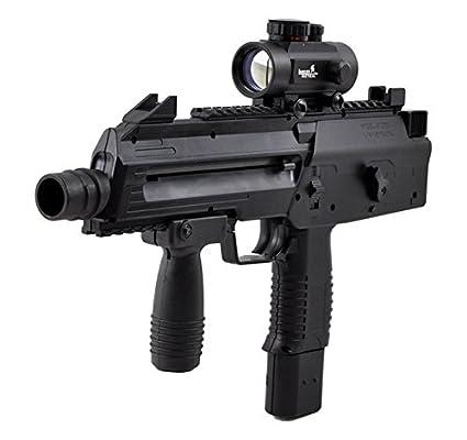 Umarex Steel Storm Semi / 6-Burst CO2 BB Gun Air Pistol SMG w/ Red Dot Sight