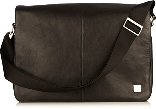 Knomo Luggage Brompton Bungo Messenger Bag, Black, One Size