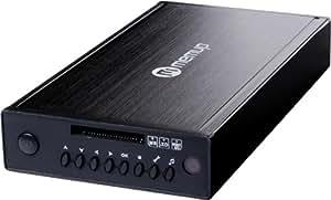 """Verbatim MediaStation HD DVR Network Multimedia Recorder 1TB Wifi Negro reproductor multimedia y grabador de sonido - Reproductor/sintonizador (Negro, 7200 RPM, NTFS, SD,SDHC, 1000 GB, 3.5"""")"""