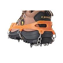 Crampons Ski Belt High Altitude Hiking Slip-resistant 18 Teeth Mountaineering snow ice