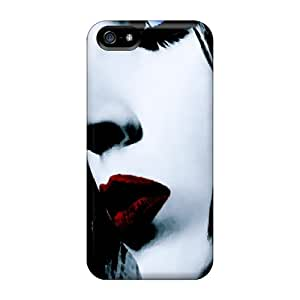 DannyLCHEUNG Iphone 5/5s Scratch Resistant Cell-phone Hard Covers Allow Personal Design Beautiful Marilyn Manson Series [NpF422tIha]