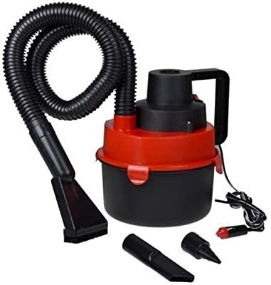 12V Portable Hand Held Wet & Dry Outdoor Mini Car Boat Vacuum Cleaner Inflator Pump