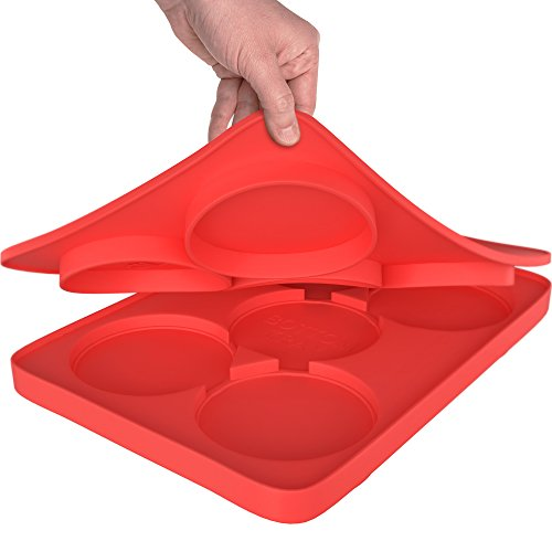 GuteK%C3%BCchen Silicone Circular Divisions Party Red product image