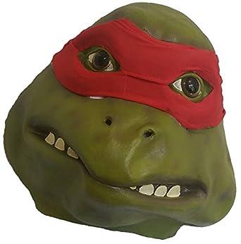 Deluxe de látex de goma de cabeza completa Teenage Mutant ...