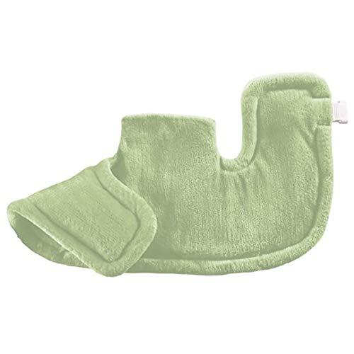 QETU Almohadilla térmica para vértebras cervicales - Terapia Hombro y Cuello Mantón térmico a Temperatura Constante...