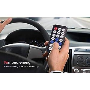 41L3BlIRs3L. SS300  - ieGeek-Car-Radio-Bluetooth-Handsfree-Dual-LCD-Display-with-Clock-MW-and-FM-RDS-Radio-Data-System-Stereo-Car-Radio-30-Memory-Spaces-USBAUX-Input-MP3-FLACSD-Card