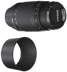 Nikon 70-300 Mm F4-5.6g Zoom Lens With Auto Focus For Nikon Dslr Cameras
