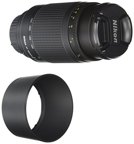 Nikon 70-300 mm f/4-5.6G Zoom Lens with Auto Focus for Nikon DSLR Cameras (Camera D3100 Nikon)
