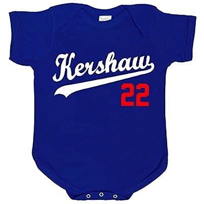 "Clayton Kershaw Los Angeles Dodgers ""Kershaw"" Baby 1 piece"