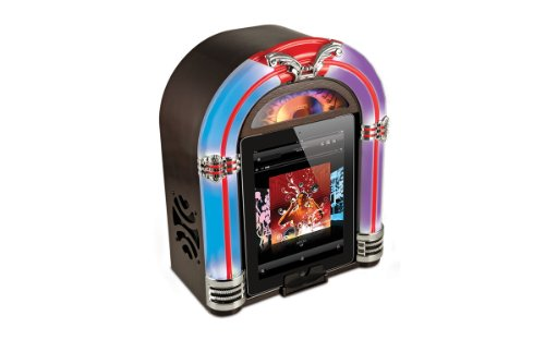 Jukebox Ipod - ION Jukebox Retro Wireless Speaker for iPad and iPhone (30-pin)