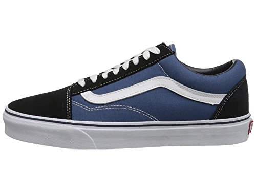 Skool Mixte Vans Classic Old Adulte Bleu Canvas Baskets Basses Suede 5xROqw