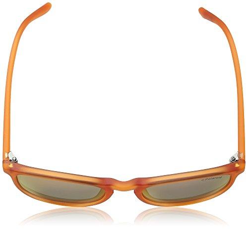 nbsp;– hombre Orange Speckled nbsp;PLD 8016 N Pz Red Naranja policarbonato Geométrico Polaroid Grey nZ16An