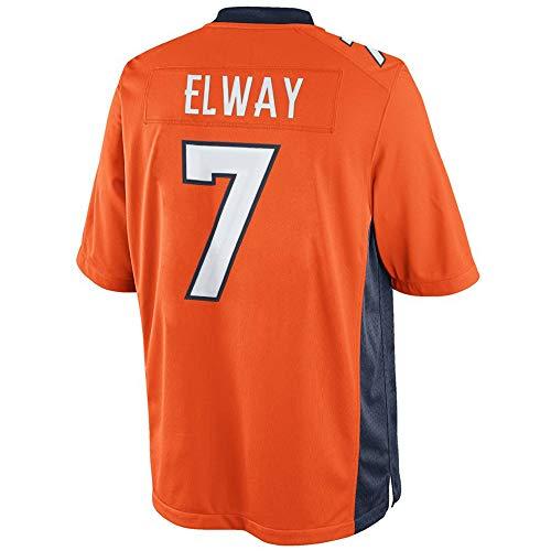 - John_Elway_#7_Football_Jersey_for_Men's/Women's/Youth (Youth-S, Orange)