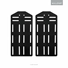 MALOUF Structures King Bed Frame Headboard Bracket Modification Plate Modi, Set of 2