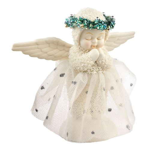 Department 56 Snowbabies Dream and God Bless Me Figurine, 5.25 inch