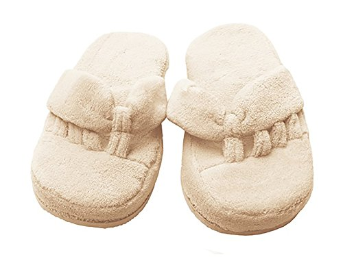 Bennoti Women's Comfy SPA Slippers, Soft Cream