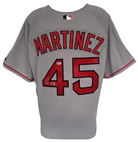 Pedro Martinez Signed Boston Red Sox Authentic Majestic Baseball Jersey BAS
