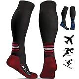 aZengear Compression Flight Socks for Women & Men (20-30 mmHg) - Best